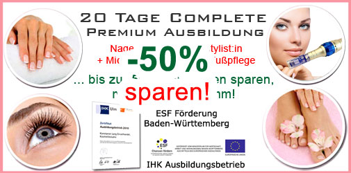 Karlsruhe Nails BB Glow Kosmetik Komplettausbildung günstig