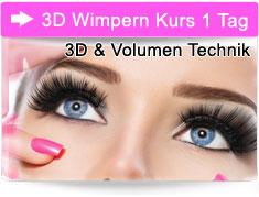 3D Wimpern Kurs