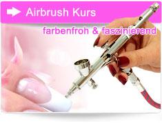 Airbrush Kurs Nageldesign